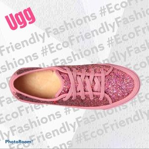 UGG Gumball Glitter I Heart Lace-Up Sneaker